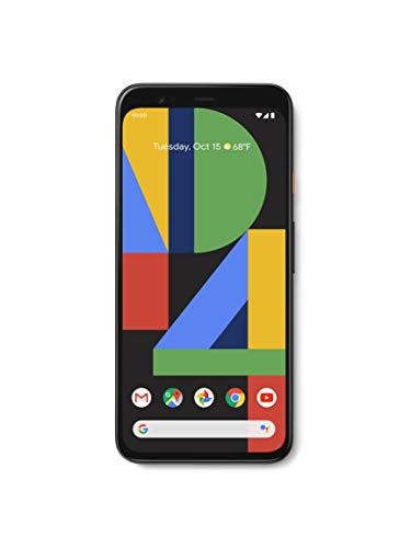 Google Pixel 4 XL (6.3 inch, Android) SIM-Free Factory Unlocked 4G/LTE Smartphone (G020P UK Model) (Clearly White, 128GB)
