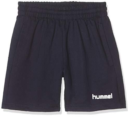 Hummel Kinder hmlGO Cotton Bermuda Shorts, Schwarz, 116
