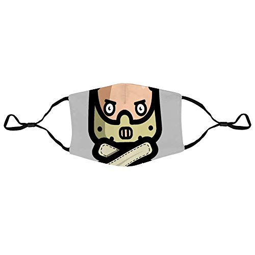 Mundschutz Simpler Dr Hannibal Lecter Silence of The Lambs Personalized Anti-Dust Face Scarf Mouth Cover Face Cover