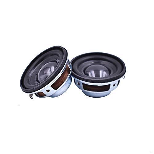 WNJ-TOOL, 2pcs 40mm 4ohm 3w Altavoz de Audio de Rango Completo 1.5inch Esteroo de Altavoz acústico para la Unidad de Altavoz de Bluetooth de Coche Twist DIY (tamaño : 1.5')