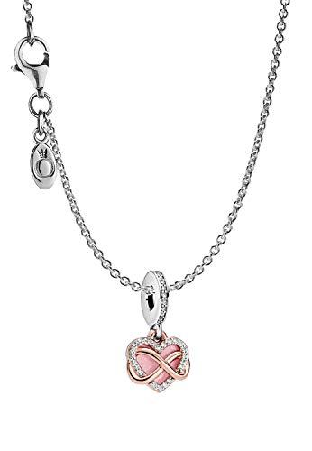 Pandora 39490 - Collar para mujer con colgante de corazón
