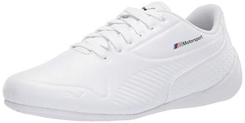 PUMA Unisex-Baby BMW MMS Drift Cat 7S Ultra Sneaker, white-white, 4 M US Toddler