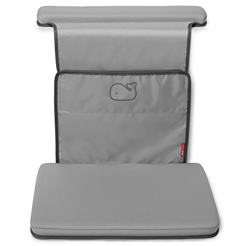 Skip Hop Baby Bath All-in-One Elbow Saver and Kneeler, Grey