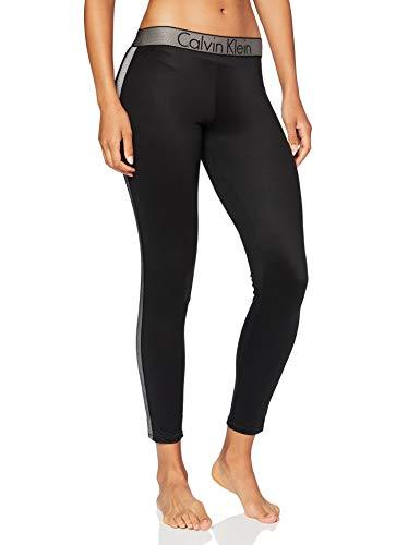 Calvin Klein Damen Legging_000QS5864E Hose, Schwarz (Black 001), S