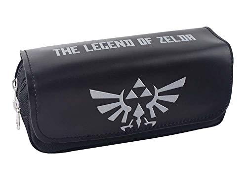 Legend of Zelda - Estuche para lápices de niños, para oficina, estudiante, escuela, suministros, niños, niñas, bolígrafo