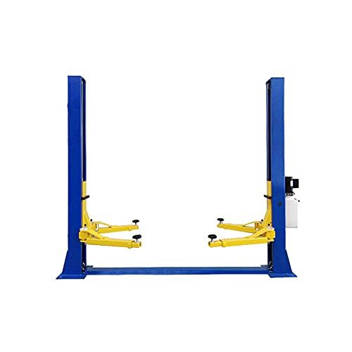 noth UE-QJY240CM 4 ton Double Column (Bilateral Unlocking) 2 Post Base Plate car Lift