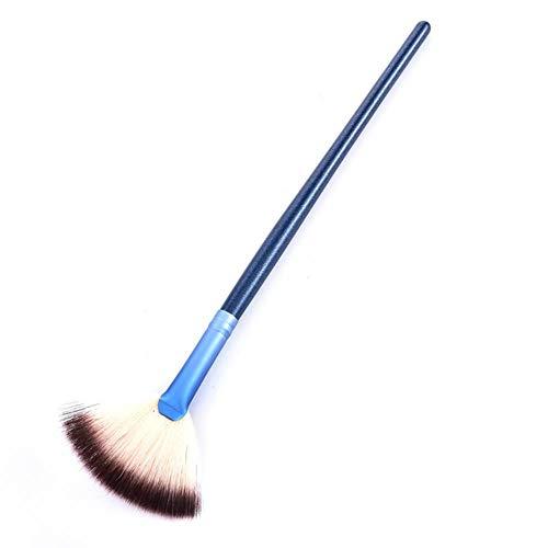 LZJE Brosses Maquillage Doux Grand Ventilateur Brosse Fondation Blush Blush Poudre Surligneur Brosse Poudre Brosses Cosmétique, NB315