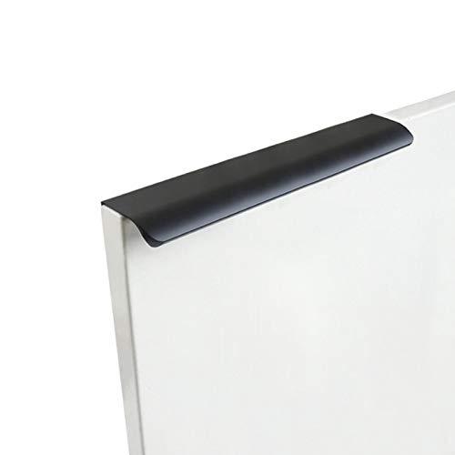 Juego de 10 tiradores largos para cajones de gabinete para cocina, a prueba de óxido, estilo moderno, para el hogar, dormitorio, aleación de aluminio