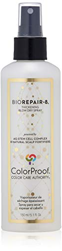 ColorProof BioRepair-8 Thickening Blow Dry Spray, 5.1 Oz - Color-Safe, Volume, Vegan, Sulfate-Free, Salt-Free, Unisex - Professional Hair Product