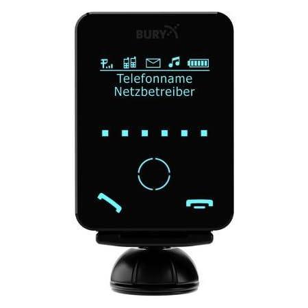 Bury Cc9058 Mono Screen Freisprecheinrichtung Bluetooth Freisprecheinrichtung 7 1 Cm 2 8 Zoll Monochromer Abnehmbarer Touchscreen Dialogplus Sprachsteuerung Magische Wortaktivierung A2dp Audio Streaming 3 5 Mm Aux Eingang Kabel Mit 30