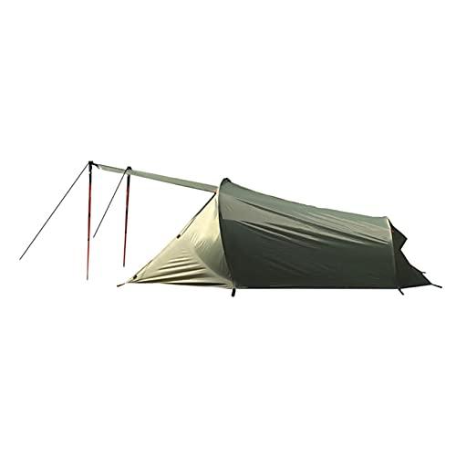 N/S Tente à Dos Ultra-légère 2 Personne, Tente de Camping Double Couche en Aluminium léger avec intérieur étanche et intérieur, pour la Camping d'escalade en extérieur