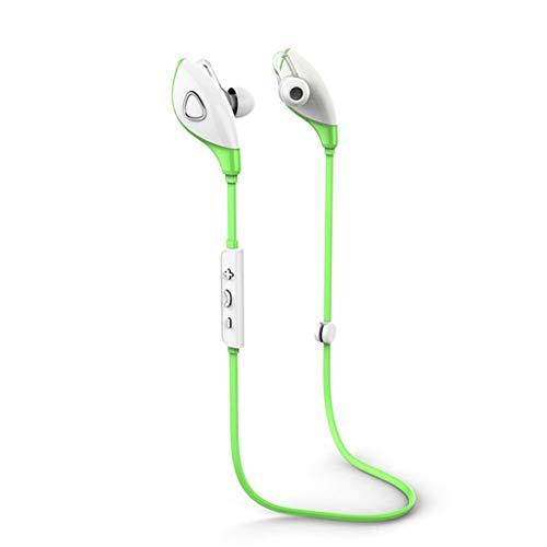 Hoofdtelefoon voor hardlopen, koptelefoon met microfoon, bluetooth, draadloos, hi-fi stereo hoofdtelefoon met ruisonderdrukking, comfort en snelle koppeling. Blue