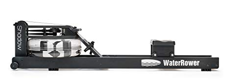 WaterRower Máquina de Remo Shadow/Negro con Monitor de Potencia S4.