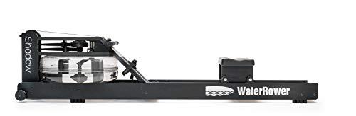 WaterRower Máquina de Remo Shadow/Negro con Monitor de Potencia S4.