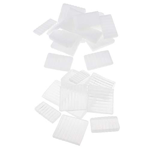 chiwanji 1000 Gramm Transparente Seifenbasis DIY Handgemachte Seife Herstellung Rohmaterial für DIY ätherische Ölseife Muttermilch Seife Herstellung