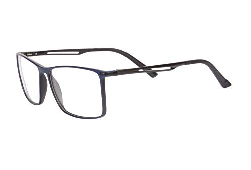 SHINU Filtros de Luz Azul Multi Atencion Progresivo Multifocal Gafas de Lectura para Hombres y Mujer-RMBG30(C5-up+0.00,down+2.50)