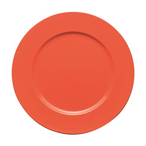 Excelsa Orange Assiette Ronde 33 Cm.