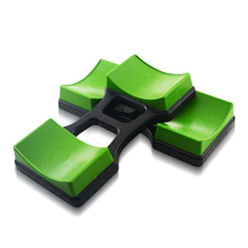 Asamio 1 Paar Hantelablage für kleine Kurzhanteln, Hanteln Platzierung Ständer Hantelhalter Bodenschutz Fitness Trainingsgerät Halterung