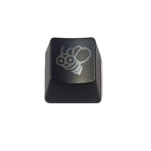 Boji Tapas de teclado, 1 PC Honey Bee ABS retroiluminado Keycap OEM R4 Teclado mecánico Keycap ESC Kids Toys