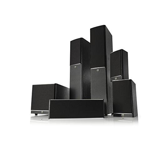 JBL Arena 180 Black 2-Way Dual 7-Inch Floorstanding Loudspeaker (Black)