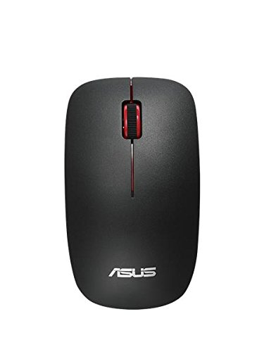 Asus 90XB0450-BMU000 WT300 wireless optical Schwarz/Rot (Deutsches Tastaturlayout)
