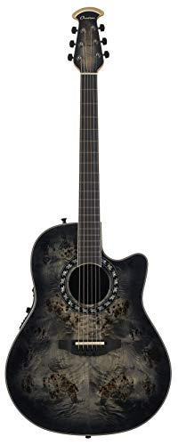 Ovation Exotic Woods Legend Akustische E-Gitarre Exotischer Pappel Dark Burst