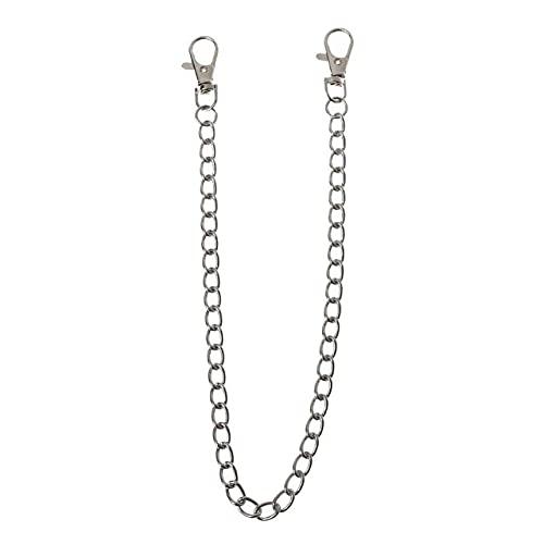 TOSISZ 16'Punk Belt Wallet Chain Cintura Pantalones Cadena Cadena de Bolsillo con Llavero para Pantalones...