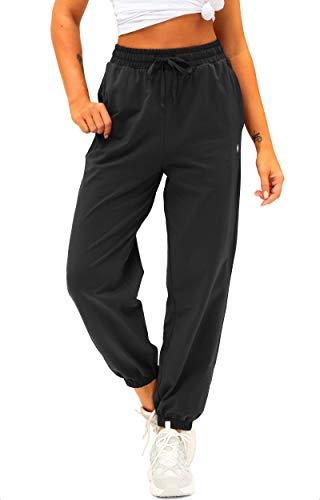 Women's Cotton Sweatpants High W...