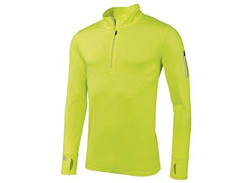 CRIVIT®PRO Herren Sport Funktionsshirt Baselayer Midlayer - Kompressionshirt Fitness Gym Jogging Laufen Kompression Langarm Trainingsshirt