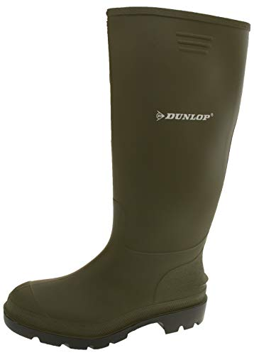 Dunlop Protective Footwear Pricemastor Shoes, Stivali di Gomma Unisex-Adulto, Verde, 43 EU