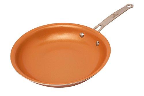 PALEMISO Poêle à frire avec revêtement en cuivre,...