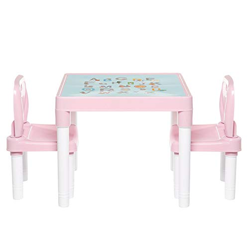 Tavolo Da Studio Per Bambini Aprendizaje mesas y sillas jardín de infancia for niños de nuevo presidente de plástico for niños mesa Conjuntos de muebles Casa y jardín Adatto Per L'Apprendiment