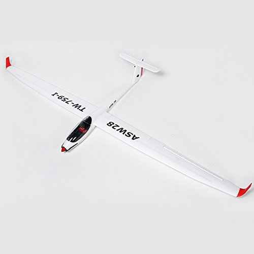 New Volantex ASW28 ASW-28 V2 Sloping 2540mm Wingspan EPO RC Sailplane Glider PNP By KTOY