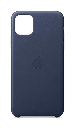 Apple Custodia in Pelle (per iPhone 11 Pro Max) - Blu Notte