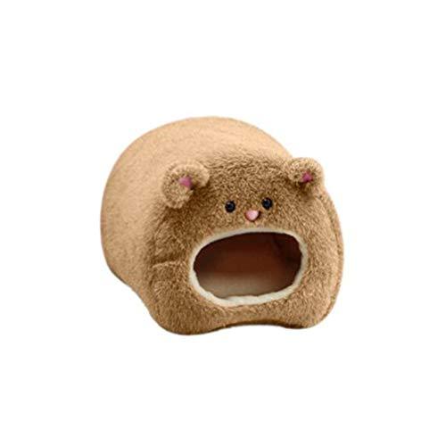 HEALLILY 1 rede de pelúcia de rato, saco de dormir de pelúcia, caverna, rede de pelúcia para crianças e bebês