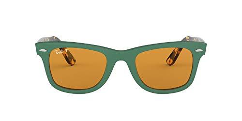 RayBan RB2140 Original Wayfarer Sunglasses Green/Polarized Yellow 50 mm