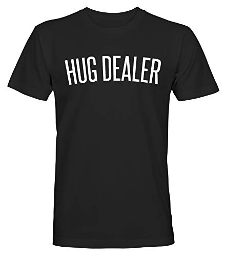 Eat Sleep Hug Dealer - T-Shirt - Hombre - Negro