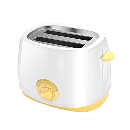 WANGYIYI 2 tragamonedas de Rebanada Tostadora automática Tostadora eléctrica para Hornear Máquina de Desayuno Máquina de Desayuno Mini Toast Sandwich Grill Horno Calentador
