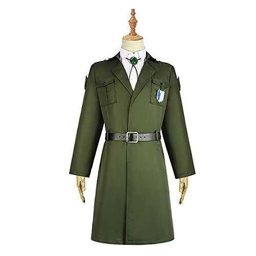 Xin Hai Yuan Levi Eren - Disfraz de soldado de la Legión Scouting para hombre, uniforme de Halloween, carnaval, talla M