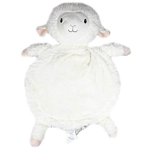 Amycute Kinder Spielmatte Spielbogen Baumwolle Krabbeldecke Plush Activity Gym Krabbeldecke Plush Schafe Spielzeuge MatteSpielzeuge Matte fürs Kinderzimmer(Weiß)