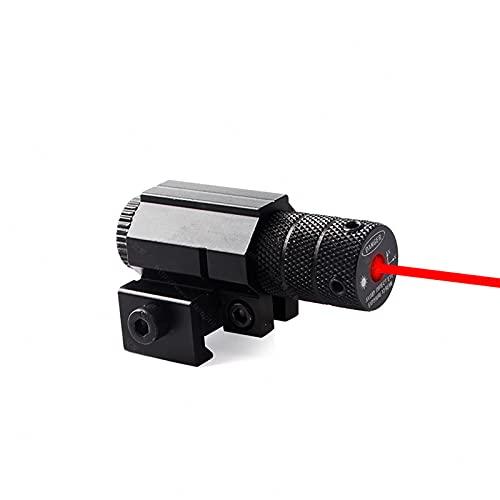 GGBLCS 20 Mm Airsoft Carril Táctico, Optics Red Dot Sight, Visor De Punto Rojo Interno Se Puede Ajustar hacia Arriba, Niveles De Brillo Rifle De Aire Suave