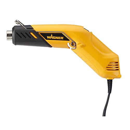 WAGNER Heißluftpistole FURNO 100 - 230/360°C, 350 W, Luftmenge 100/150 l/min, Gewicht 320 g, Kabellänge 1,8 m, Gelb