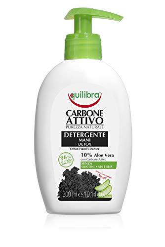 Equilibra Carbone Attivo Detergente Mani Detox, 300 ml