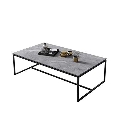 YEK Tavolino da caffè Tavolini in Ardesia Tavolini Elegante semplicità semplicità Tavolo da Angolo tè Rettangolare per Piccolo Appartamento Soggiorno Camera da Letto Tavolo da Soggiorno
