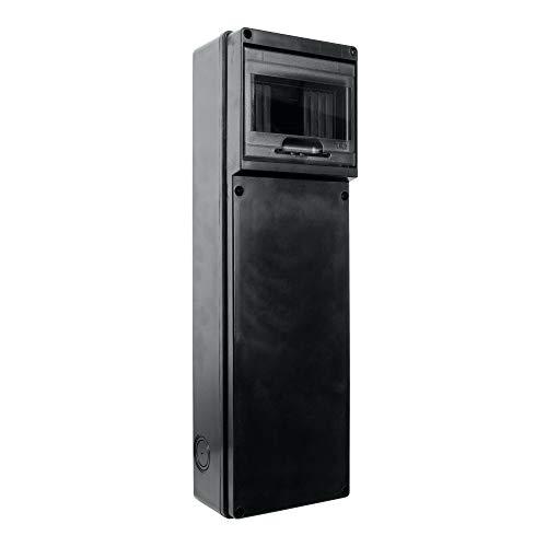 Stromverteiler TD SLIM IP65 6Mod Verteilerkasten Feuchtraumverteiler Sicherungskasten AP DV 9115