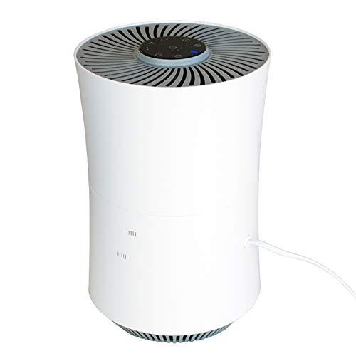 MYRCLMY Purificador de aire, hipoalergénico, polvo, polen, purificador de escritorio, refresco de iones negativos, formaldehído y eliminación de olores, oficina, dormitorio, dormitorio o bebés.