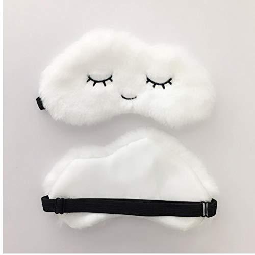 Nette Wolke Augenmaske Weicher Plüsch Schlafmasken Für Frauen Girls Home Sleeping Blindfold Reisen