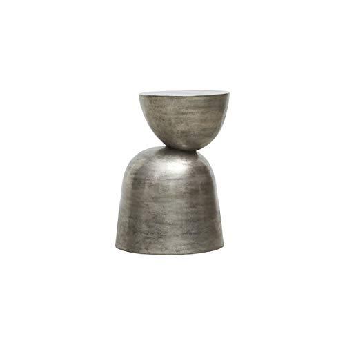 House Doctor Beistelltisch, Heena, Metal Oxidized, h: 55 cm, Dia: 40 cm, Finish/Farbe kann variieren, Aluminium, Oxidiertes Metall