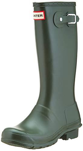 Hunter Original, Stivali di Gomma Unisex-Bambini, Verde (Dark Olive Dov), 32 EU
