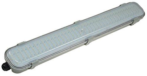 LED Deckenleuchte mit Bewegungsmelder 18Watt 1350 Lumen HF-Sensor IP65 Wasserdicht Wetterfest I Präsenzmelder 8m Reichweite 4000k Neutralweiß